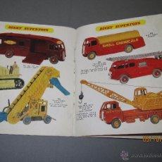 Juguetes antiguos: ANTIGUO CATALOGO DE JUGUETES DINKY TOYS & DINKY SUPERTOYS DEL AÑO 1957. Lote 51664414