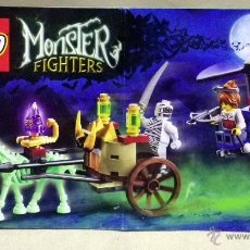 Juguetes antiguos: CATALOGO LEGO, 9462, MONSTER FIGHTERS, 2012. Lote 52026175