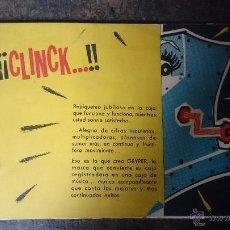 Juguetes antiguos: CATALOGO GEYPER TINY TOYS 1958-59. Lote 52823249