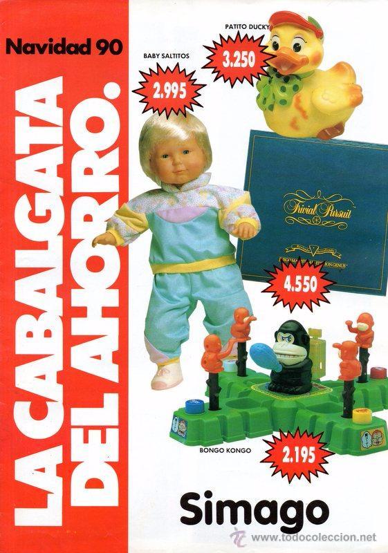CATALOGO DE JUGUETES 1990, SIMAGO, MUY RARO, 8 PAGINAS (Juguetes - Catálogos y Revistas de Juguetes)