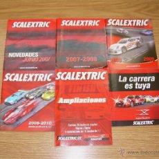 Juguetes antiguos: LOTE DE 6 CATALOGO SCALEXTRIC ESPAÑOLES AÑOS 2007 2008 2009 2010 DISEÑO CIRCUITOS DIGITAL .. NUEVOS. Lote 53043819