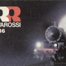 Juguetes antiguos: CATÁLOGO RIVAROSSI 1986 POCHER O HO N - EN INGLÉS. Lote 53256883