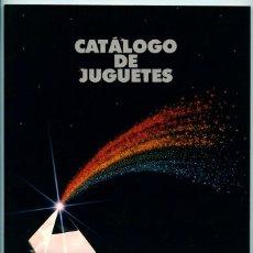Juguetes antiguos: CATÁLOGO DE JUGUETES 89-90 EL CORTE INGLÉS - G.I. JOE, MASTERS, PLAYMOBIL, COMANSI, EXIN, TENTE, ETC. Lote 53715804