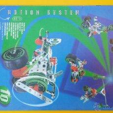 Juguetes antiguos: CATALOGO MECCANO MOTION SYSTEM 10. Lote 53503530