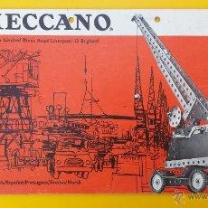 Juguetes antiguos: CATALOGO MECCANO EQUIPOS 2/3 . Lote 53503556