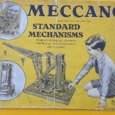 Juguetes antiguos: CATALOGO MECCANO STANDARD MECHANISMS AÑOS 30. Lote 53503852