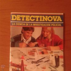 Juguetes antiguos: MANUAL LIBRO DE INSTRUCCIONES DETECTINOVA - MEDITERRANEO. Lote 53582541