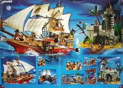 Juguetes antiguos: minifolleto mini folleto minicatalogo, mini catalogo aleman playmobil 2009 - Foto 3 - 53723866