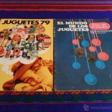 Juguetes antiguos: DE LOS JUGUETES EL CORTE INGLÉS 79 80, 90 91, 91 92, 92 93, 95 96 REGALO MUNDO GALERÍAS PRECIADOS 76. Lote 47953420