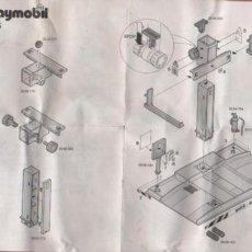 Juguetes antiguos: HOJA DE INSTRUCCIONES DE PLAYMOBIL Nº 3615 1994. Lote 54231021