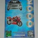 Juguetes antiguos: CATALOGO PROTAR 2000. 47 PAGINAS. AUTO 1:12/1:24. MOTO 1:6/1:9. INGLES-ITALIANO. Lote 54233524