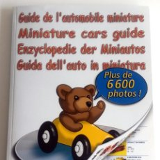 Juguetes antiguos: LIBRO GUIDE DE L'AUTOMOBILE MINIATURE.. Lote 54338784
