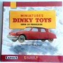 Juguetes antiguos: LIBRO MINIATURES DINKY TOYS - SERIE 24 FRANÇAISE.. Lote 54339500