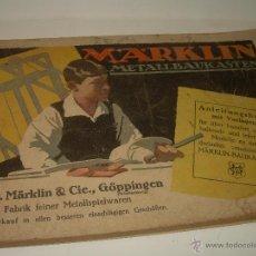 Juguetes antiguos: ANTIGUO CATALOGO MARKLIN.....152 PAGINAS.....COMPLETO. Lote 54393454