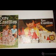 Juguetes antiguos: EXIN CASTILLOS MANUAL INSTRUCCIONES GRAN ALCAZAR X + CATALOGO/FOLLETO ORIGINAL 60'S/70'S.PTOY. Lote 48241799