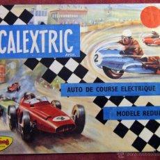 Juguetes antiguos: SCALEXTRIC TRI ANG - CATALOGO GENERAL 1963 - EN FRANCES - 24 PAGINAS. Lote 54630277