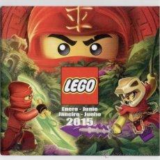 Juguetes antiguos: CATALOGO DE JUGUETES ** LEGO ** 2015. Lote 54981723