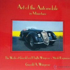 Juguetes antiguos: LIBRO ART OF THE AUTOMOBILE IN MINIATURE.. Lote 55035648