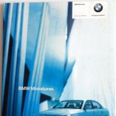Juguetes antiguos: LIBRO BMW MINIATURAS. COLECCIÓN 2003 - 2004.. Lote 55035892