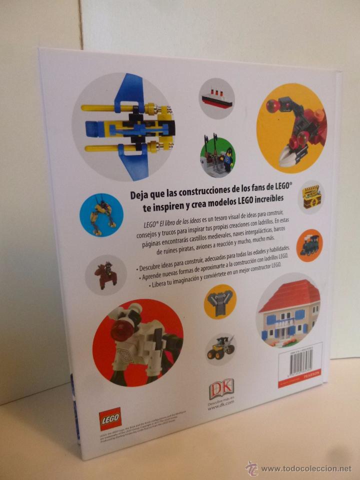 Juguetes antiguos: LEGO, EL LIBRO DE LAS IDEAS, CONSTRUYE LO QUE QUIERAS ( DSNIRL LIPKOWITZ) LEGO 2012 - Foto 2 - 55037353