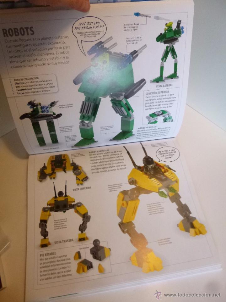 Juguetes antiguos: LEGO, EL LIBRO DE LAS IDEAS, CONSTRUYE LO QUE QUIERAS ( DSNIRL LIPKOWITZ) LEGO 2012 - Foto 3 - 55037353