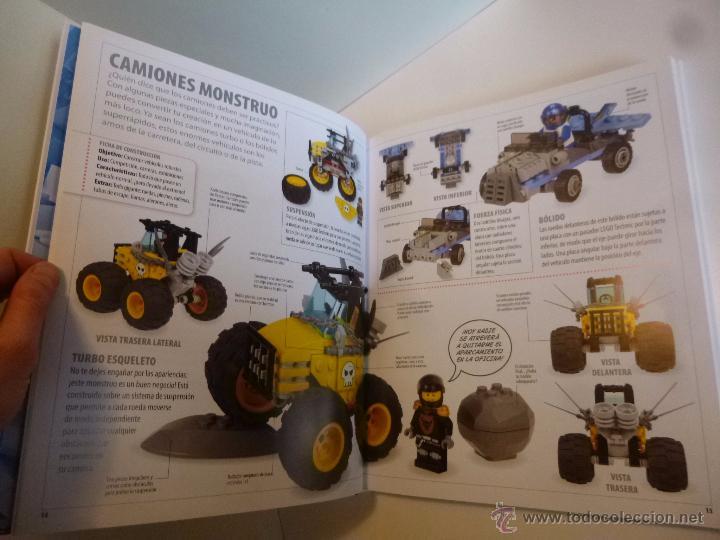 Juguetes antiguos: LEGO, EL LIBRO DE LAS IDEAS, CONSTRUYE LO QUE QUIERAS ( DSNIRL LIPKOWITZ) LEGO 2012 - Foto 5 - 55037353
