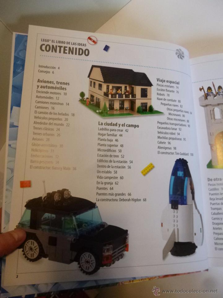 Juguetes antiguos: LEGO, EL LIBRO DE LAS IDEAS, CONSTRUYE LO QUE QUIERAS ( DSNIRL LIPKOWITZ) LEGO 2012 - Foto 6 - 55037353