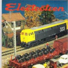 Juguetes antiguos: ELECTROTREN CATÁLOGO AÑO 1992 - 1994. Lote 55080083