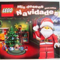 Juguetes antiguos: CATALOGO DE JUGUETES LEGO NAVIDADES 2012 NAVIDAD. Lote 55112327