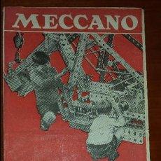 Juguetes antiguos: CATALOGO DE MECCANO DESPLEGABLE AÑOS 30. Lote 55134709