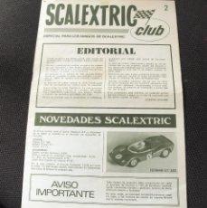 Juguetes antiguos: REVISTA SCALEXTRIC CLUB NUMERO 2 - AÑO 1969 - EXIN. Lote 55184204
