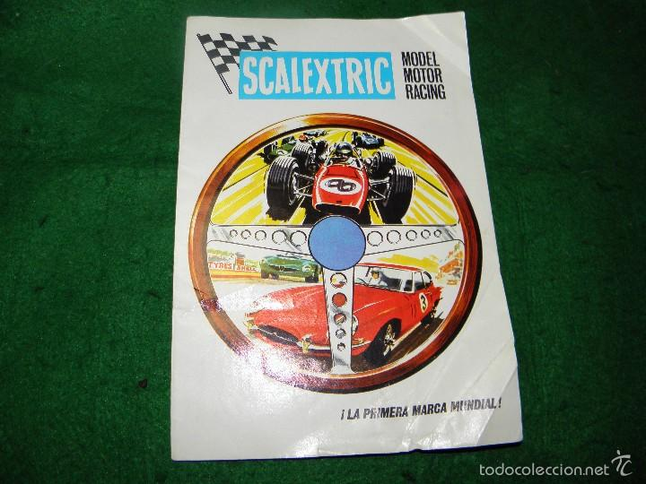 Juguetes antiguos: CATALOGO SCALEXTRIC MODEL MOTOR RACING 1968 - Foto 1 - 55323363