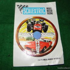 Juguetes antiguos: CATALOGO SCALEXTRIC MODEL MOTOR RACING 1968. Lote 55323363