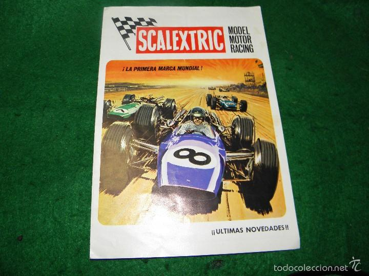 CATALOGO SCALEXTRIC MODEL MOTOR RACING 1970 (Juguetes - Catálogos y Revistas de Juguetes)