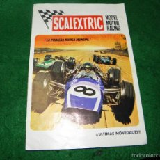 Juguetes antiguos: CATALOGO SCALEXTRIC MODEL MOTOR RACING 1970. Lote 55323398