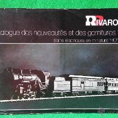Juguetes antiguos: CATALOGO RIVAROSSI HO,O Y N DEL AÑO 1976 IBRETERN. Lote 55334145