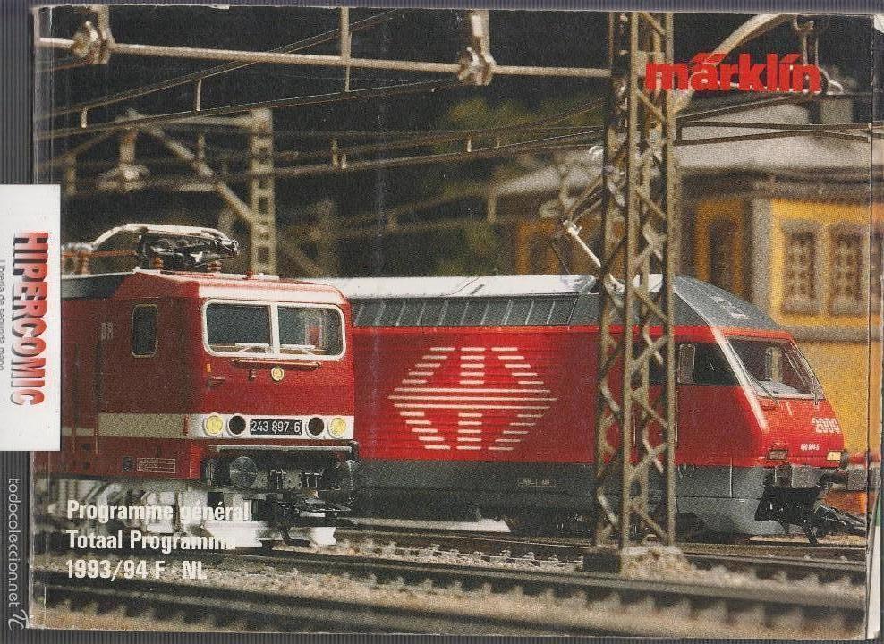 CATÁLOGO MODELISMO FERROVIARIO MÄRKLÍN 1993/94 , 368 PAGINAS (Juguetes - Catálogos y Revistas de Juguetes)