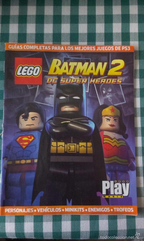 Guia Completa Del Juego Lego Batman 2 Dc Super Comprar Catalogos Y