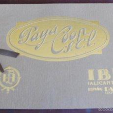 Juguetes antiguos: CATALOGO PAYA COOP SCL FASCIMIL DE 1923 EDITADO POR PAYA EN 1986. Lote 55705523