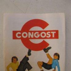 Juguetes antiguos: CATÁLOGO DESPLEGABLE DE CONGOST - CON BIG JIM - AÑO 1974.. Lote 56098548