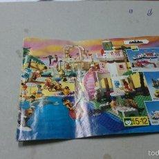 Juguetes antiguos: CATALOGO LEGO. Lote 56276850