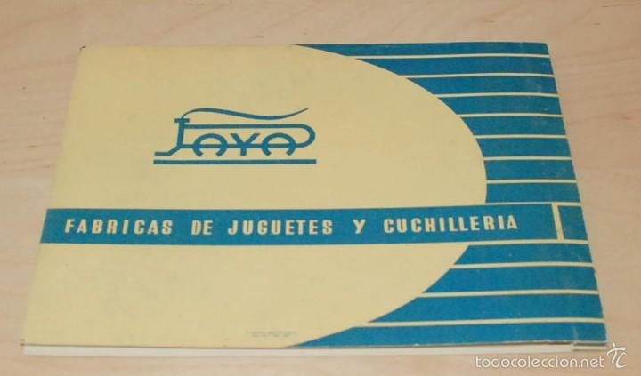 Juguetes antiguos: CATALOGO JUGUETES, PAYA, TRENES ESCALA HO ,IBI ALICANTE ,1960 ,ORIGINAL - Foto 3 - 56490722
