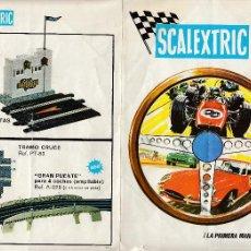 Juguetes antiguos: CATÁLOGO SCALEXTRIC, MODEL MOTOR RACING, 1968, ENVÍO GRATIS. Lote 56705369