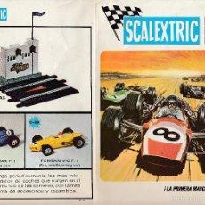 Juguetes antiguos: CATÁLOGO SCALEXTRIC, MODEL MOTOR RACING, 1969, ENVÍO GRATIS. Lote 56705378