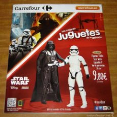 Catálogo de juguetes Navidad 2015 Carrefour Star Wars Marvel WWE