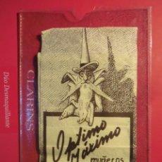 Juguetes antiguos: CURIOSO CATALOGO MUÑECOS MAGICOS GNOMOS OPTIMO MAXIMO PROPIEDADES PROTECTORAS REMEDIOS TOU TOU. Lote 53712476