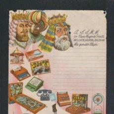 Juguetes antiguos: CARTA A LOS REYES MAGOS.JUGUETES AIRGAM.AÑOS 60-70.. Lote 57873100