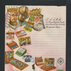 Juguetes antiguos: CARTA A LOS REYES MAGOS.JUGUETES AIRGAM.AÑOS 60-70.. Lote 57873139