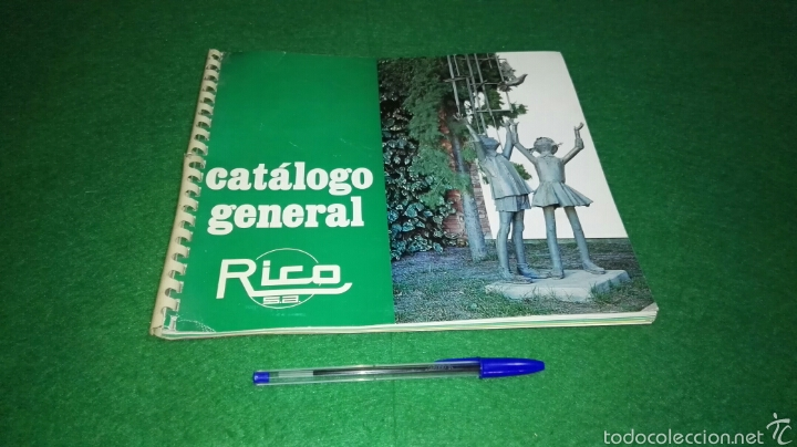 CATALOGO GENERAL RICO S.A. (Juguetes - Catálogos y Revistas de Juguetes)