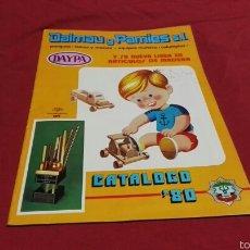 Juguetes antiguos: BONITO CATÁLOGO DAYPA DE 1980 DE DALMAU Y PAMIES S.L.. Lote 60309302